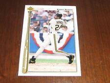 1992 Upper Deck Homerun Heroes Barry Bonds