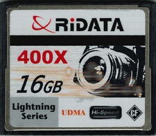 RiDATA 16GB 400X Lightning Series UDMA CF Compact Flash Memory Card