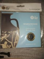 2019 Wedgewood £2 Pound Coin Royal Mint Pack BUNC