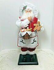 St Nicholas Square Figurine Spirit of Baking Santa Gingerbread Cookies