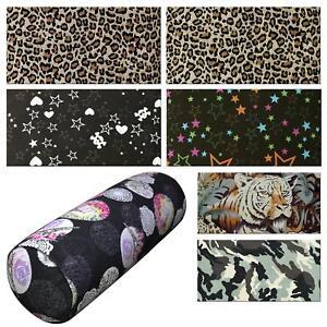 Bolster Cover*Modern Cotton Canvas Neck Roll Tube Yoga Massage Pillow Case*AL2