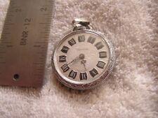 Vintage Lucerne Pendant Watch Roman Numerals