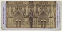 Germania Portail Da La Cattedrale Da Colonia Foto Stiehm Vintage Stereo