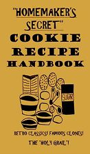 Homemaker's Secret COOKIE RECIPE HANDBOOK cookbook book COOKIES rare recipes!