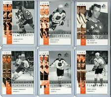 2002-03 SP Game Used #53 Wayne Gretzky All-Star Flashbacks /999 (Top Left)