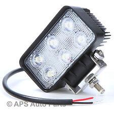 18W 6 LED Work Light Lamp Bar Flood Beam Jeep Tractor Truck Bright 12v 24v CE