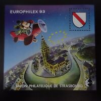 FRANCE BLOC CNEP N°17 EUROPHILEX STRASBOURG 1993 NEUF ** LUXE MNH