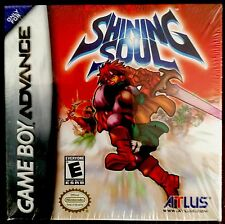 SHINING SOUL ATLUS GBA GAME BOY ADVANCE (US) GAMEBOY BRAND NEW FACTORY SEALED