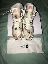 Adidas Eric Emanuel Rivalry Hi OG Shoes Size 10.5 Floral Luxury (DEADSTOCK)