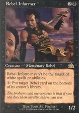 MTG: Rebel Informer - Black Rare - Prophecy - PCY - Magic Card