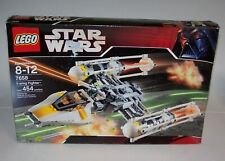Lego 7658 Y-Wing Fighter 454 pcs Ages 8+ NIB Opened & Complete Unused
