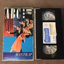 ABC Mantrap JAPAN VHS VIDEO TE-M539 w/Slip Case former Rental Free S&H/P&P