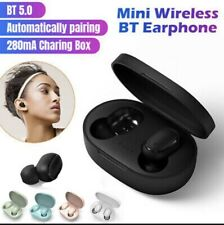 A6S TWS Stereo Airdots Headset Bluetooth 5.0 Earphone Headphone Earbuds Sport