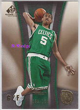 2006-07 SP GAME USED GOLD PARALLEL #6: GERALD GREEN #55/100 BOSTON CELTICS