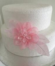 Flores de boda Cake Topper para Decoración de Pasteles Rosa Flor Spray Pastel De Cumpleaños