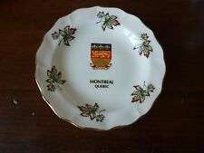 Montreal Quebec Souvenier Plate Made in England by Duchess Porcelain Plate