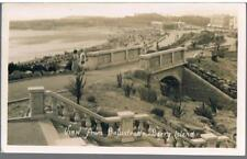 RP TYPE POSTCARD VIEW FROM  BALUSTRADE BARRY ISLAND C1930