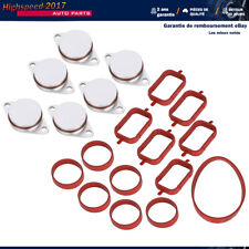 6x 33mm KIT SUPPRESSION CLAPET/VOLET BOUCHON D'ADMISSION POUR