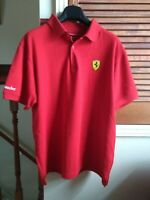 Ferrari Polo's & T Shirt x 3, Officially Licenced, all fit Large