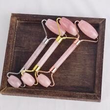 Rose Quartz Roller Guasha Tool Scraping Beauty Massage Tool Face Eye Massager