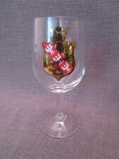 """verre a biere publicitaire ancien""""CHAMPIGNEULLES bière de France"""""""