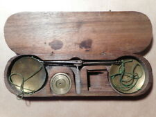 Trebuchet balance précision ancienne 18 19 siècle changeur monnaie