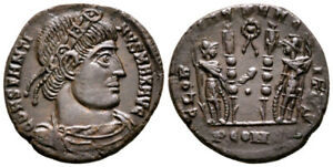 CONSTANTINE THE GREAT (330-335 AD) Rare Follis. Arles #RA 8592