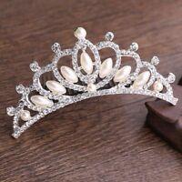Jewelry Hair Accessories Tiara Headpieces Crystal Rhinestone Crown Hair Comb