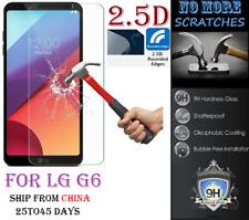 2.5D 9H REAL Tempered Glass Screen Protector LG G6 Vitre Trempé protecteur ecran