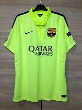 Barcelona Barca 2014-2015 Dani #63 Third Nike Football Shirt Soccer Jersey