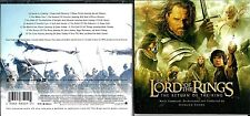 Lord Of The Rings soundtrack Cd - The Return Of The King