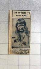 1960 Pretty Little Soraya Lawrence Beach Road St Anne's Wins Toddler Contest