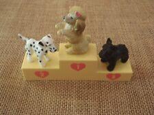 Vintage Hasbro Puppy in My Pocket Lot Set Rook, Viper, & Poodle, no cards