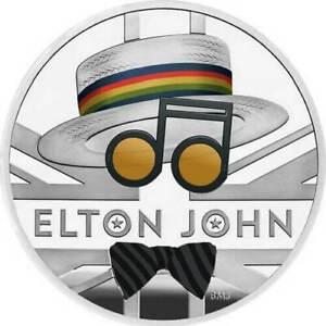Ek // GBP 2 Ag 999% 1oz BE Royaume-Uni 2020 Elton John