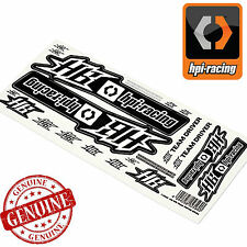 HPI RACING # 113133 - HPI RACE NUMBERS DECAL STICKER SHEET 450x130mm
