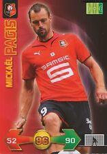 MICKAEL PAGIS # FRANCE STADE RENNAIS CARD CARTE PANINI ADRENALYN FOOT 2010
