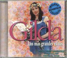 GILDA LOS MAS GRANDES EXITOS CD CUMBIA ARGENTINA BEST