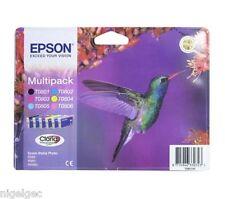 EPSON T0801 T0802 T0803 T0804 T0805 T806 T0807 originale