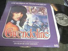 Gwendoline une musique de pierre bachelet orig synth rca bl70252 '84 france rare