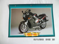 CARTE FICHE MOTO TRIUMPH 1200 TROPHY 4   1991