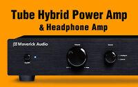 Maverick Audio A1 Tube Headphone Amplifier  & Hybrid Power  Amp & Tube Pre-Amp