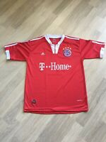 VINTAGE MAILLOT FOOT FC BAYERN MUNCHEN 21 LAHM SIZE L ADIDAS CLIMA 365 T-HOME