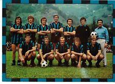 CARTOLINA INTER SQUADRA 1973-74 GRANDE FORMATO 15 X 21 CALCIO FOOTBAAL SOCCER
