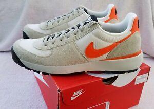 Nike Lavadome Ultra sz 9.5-11.5 grey orange 844574 001--!SIZES RUN SMALL!--