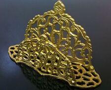 Vintage Andrea By Sadek Brass Envelop / Napkin Holder