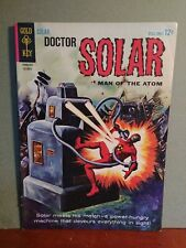 Doctor Solar  #9   5.5  1964 Gold Key comic sweet cond