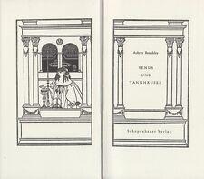Aubrey Beardsley: Venus und Tannhäuser (mit 8 ganzseitigen Illustrationen)  1964
