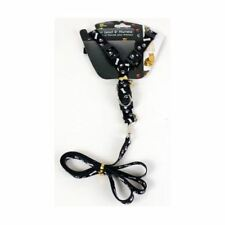 BUY 3 GET 1 FREE BLACK DOG PET LEAD WITH HARNESS LEASH 5kg ROPE DOGS LEASHES CAT