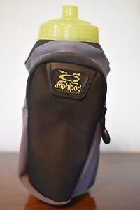 AMPHIPOD Hydraform Handheld Ergo-Lite Ultra 20oz Charcoal Bottle 40002-16-CG