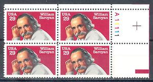 US Stamp (L188) Scott# 2538, Mint NH OG, Plate Block